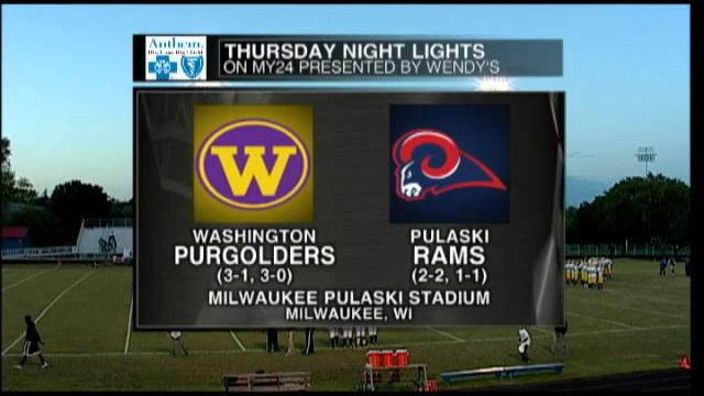 Week 5 Milwaukee Washington vs Pulaski