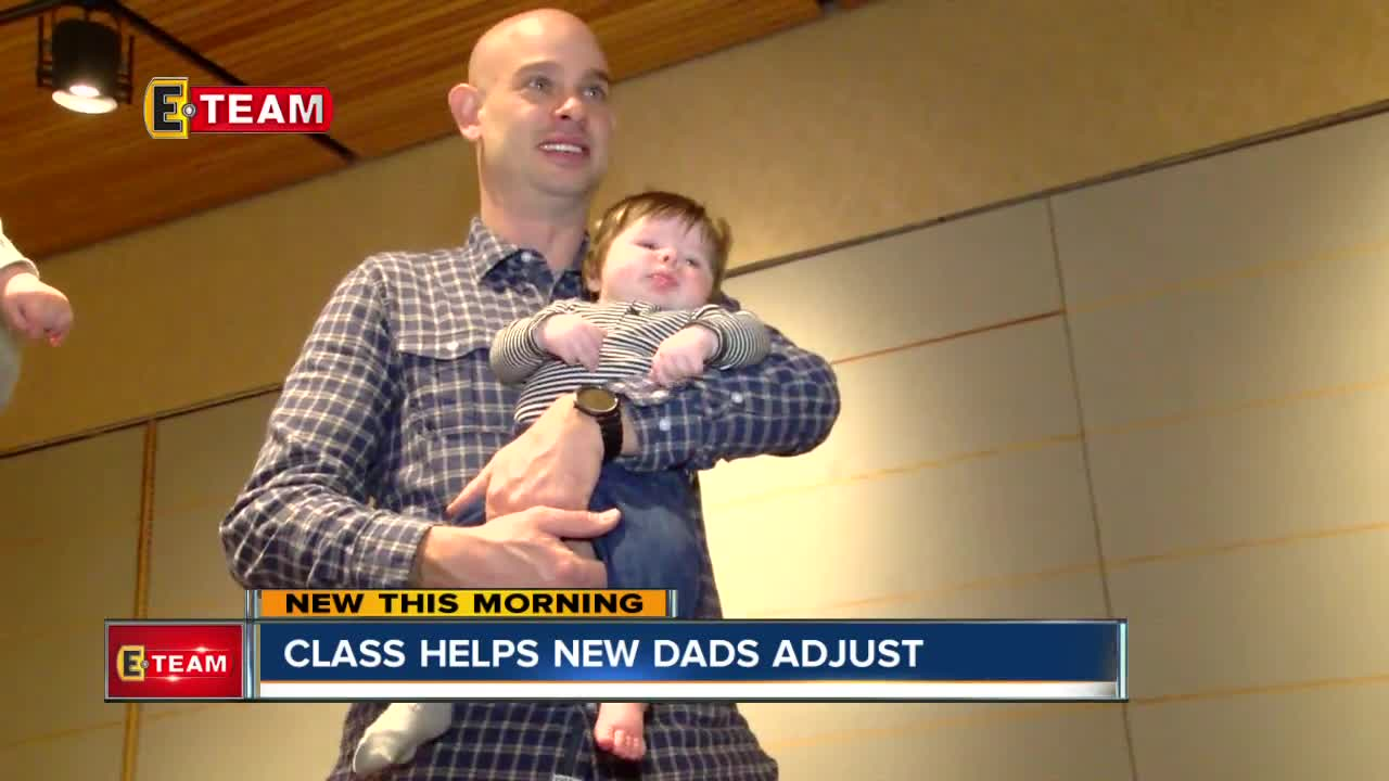 Daddy Bootcamp program is enlisting fathers to change infant
