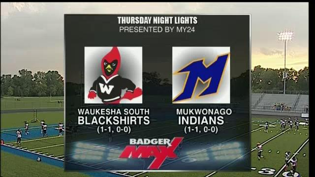 2015 Badger Max Thursday Night Lights Week 3 Waukesha South vs Mukwonago