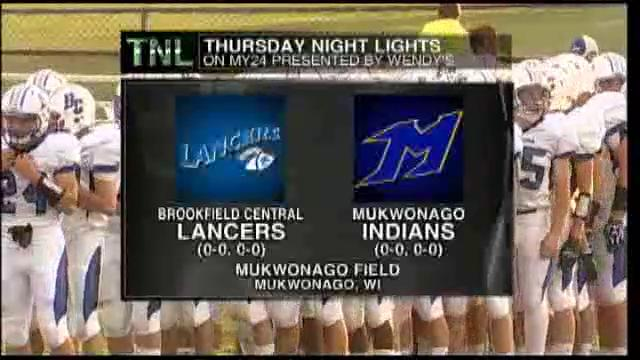 Week 1 Brookfield Central vs Mukwonago