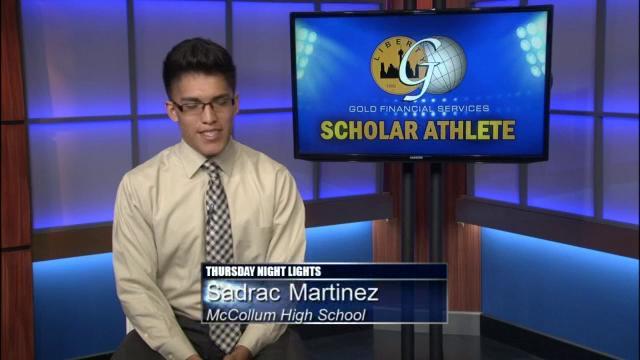 2015: McCollum &  Highlands Scholar Athlete
