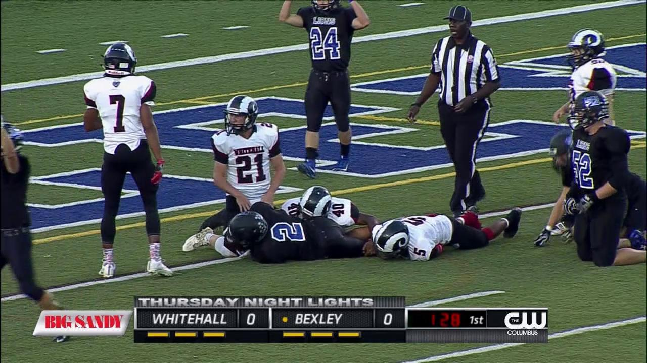 Week 4 TNL Highlights - Bexley beats rival Whitehall-Yearling