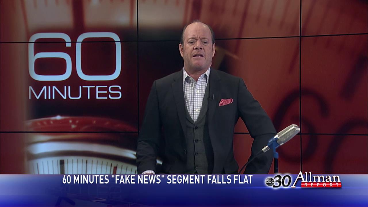 "Allman Analysis: CBS News Falls Flat Trying To Take Down ""Fake News"""