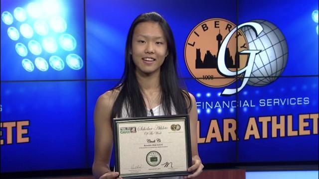 2015: Scholar Athlete