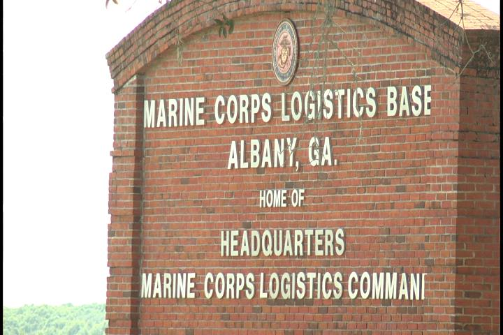Marine Corps Logistics Base officials provide update after initial damage