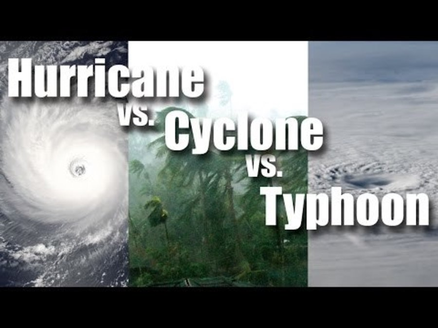 Watch: Differences between hurricane, typhoon and cyclone
