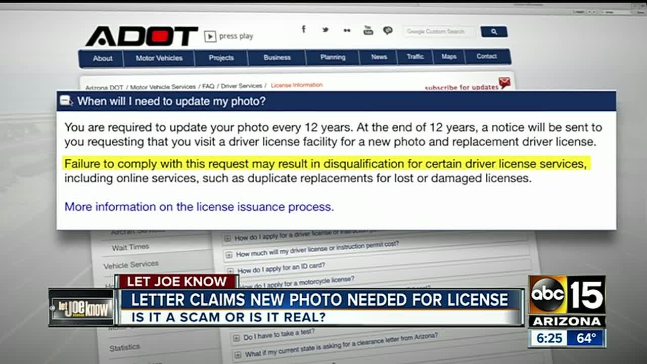 arizona drivers license replacement fee