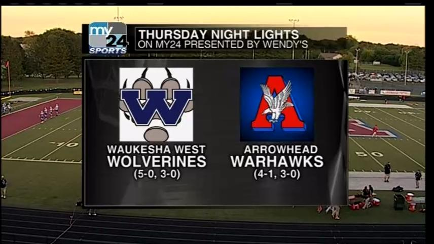 Complete Game Week 6 Waukesha West vs Arrowhead