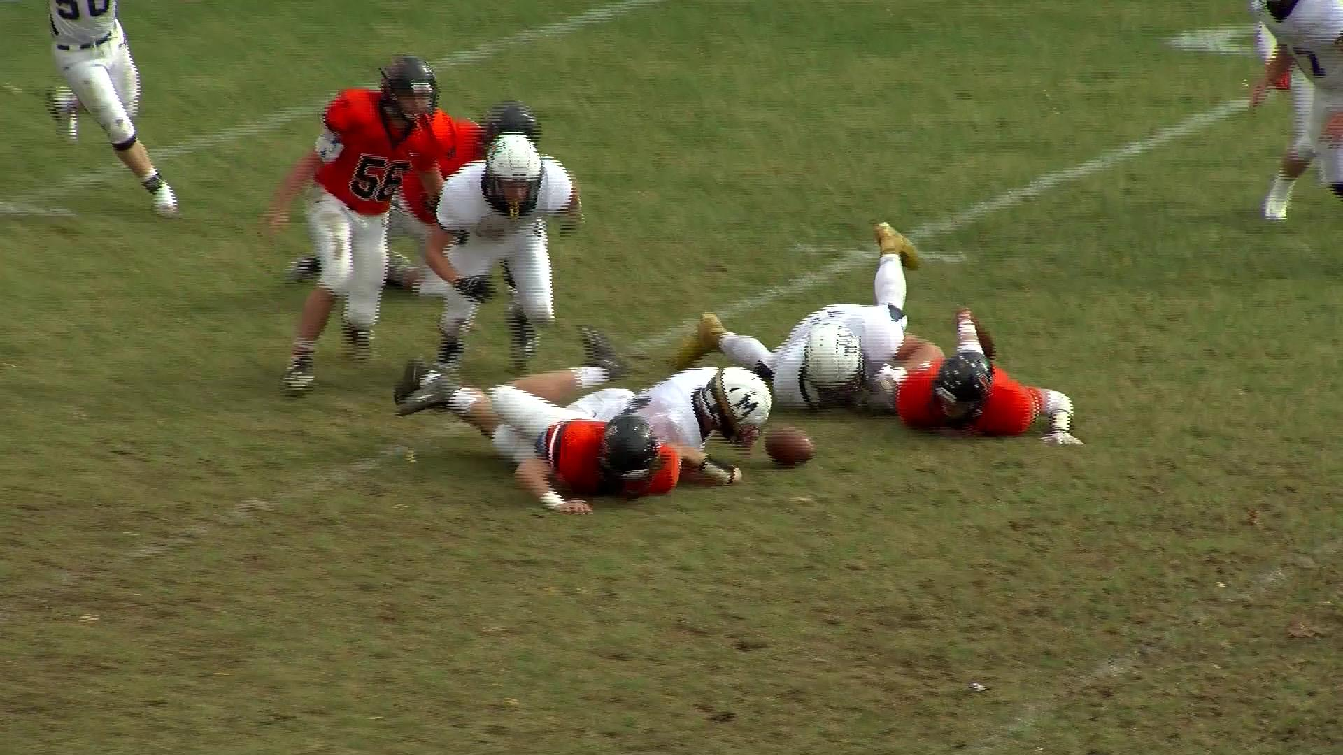 11.7.15- High School Football- Magnolia caps a perfect regular season with win at Linsly