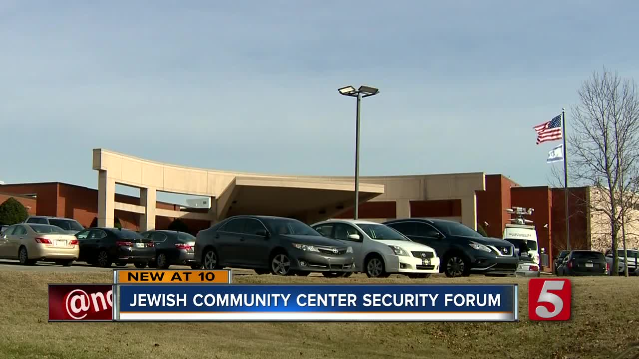 Nashville JCC Holds Security Forum After Threats