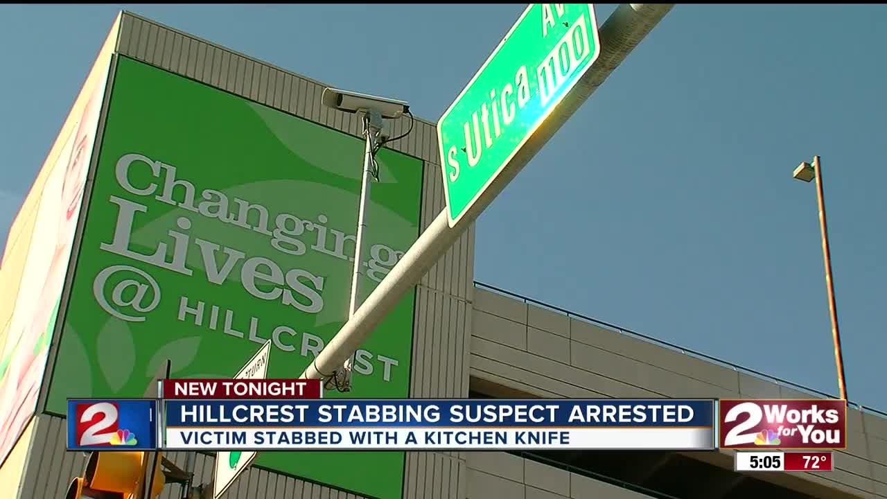Tulsa Police investigate after stabbing on Hillcrest Medical