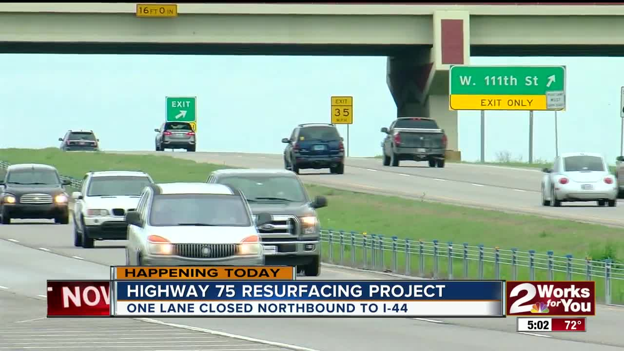 Resurfacing project on Highway 75 to have 'major impact' on