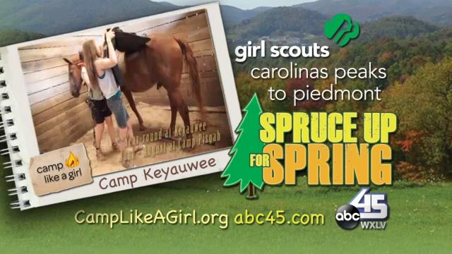 Girl Scouts Fundraiser on ABC 45