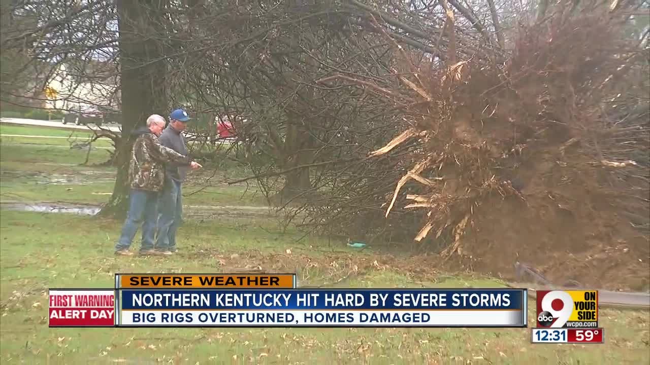 national weather service  5 tornadoes hit tri