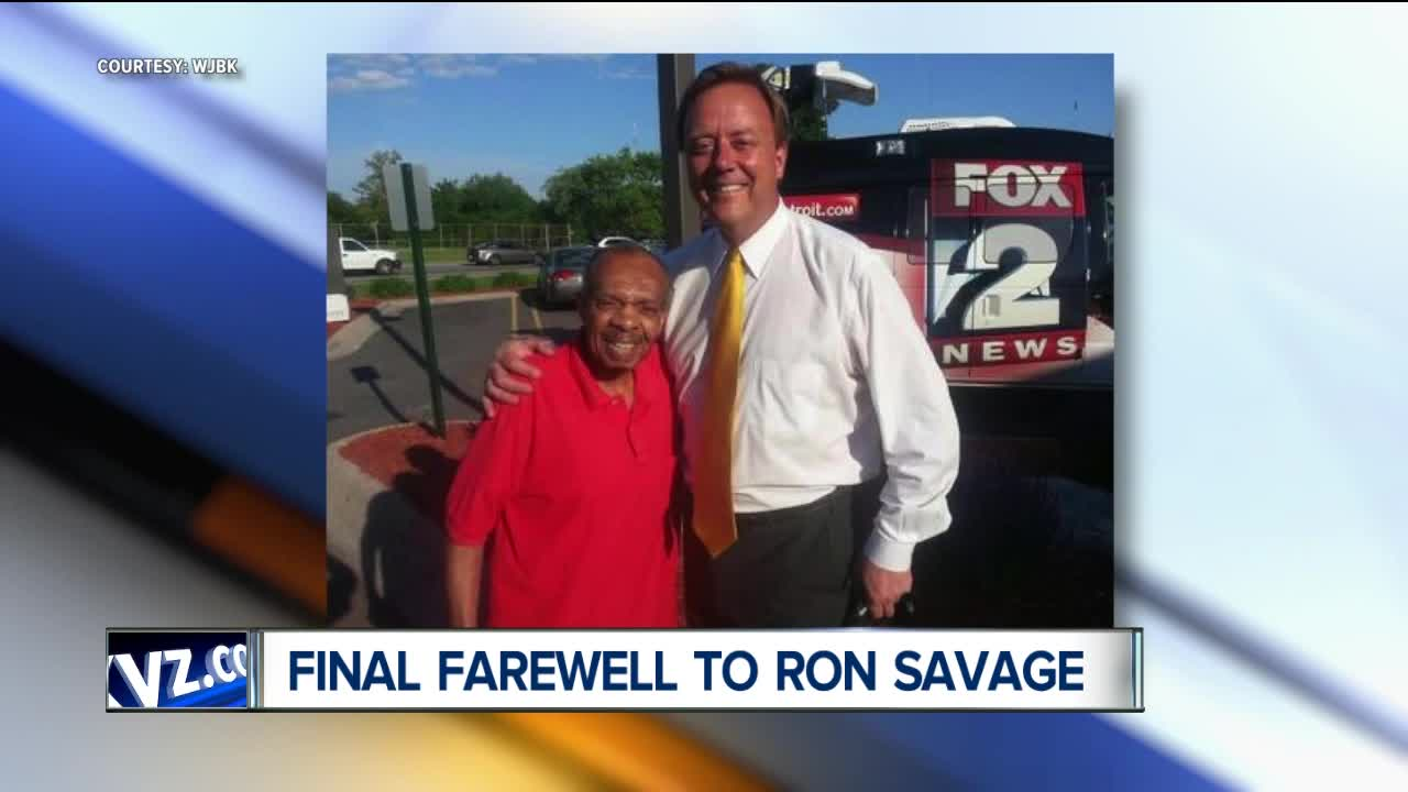 Funeral held for Fox 2 news anchor Ron Savage