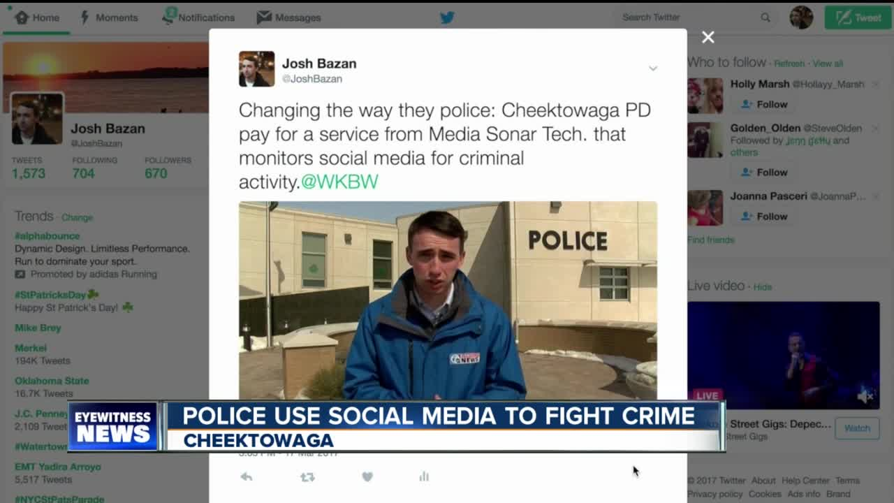 Police tracking social media to fight crime