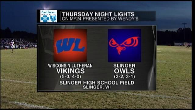 Week 6 Wisconsin Lutheran HS vs Slinger High School. Slinger Homecoming 2012 Sept. 28th, 2012