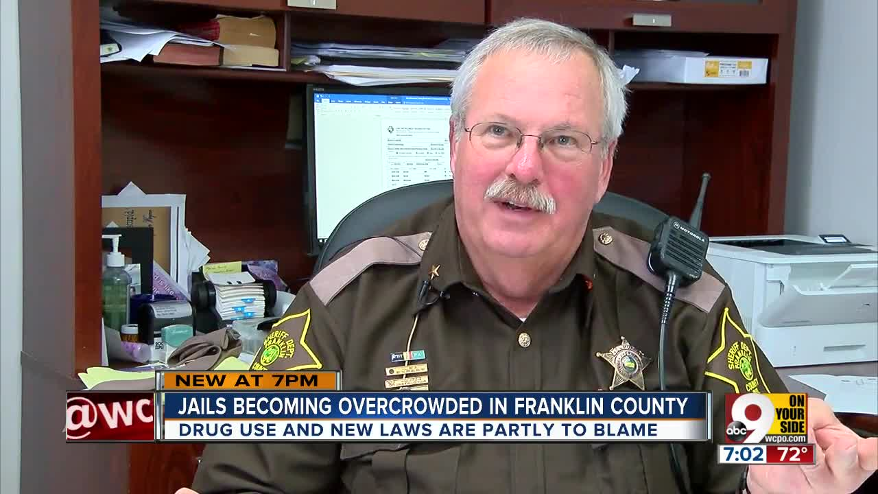 Indiana county jails overflowing with inmates, Franklin