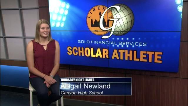 2015: Canyon & Judson Scholar Athlete