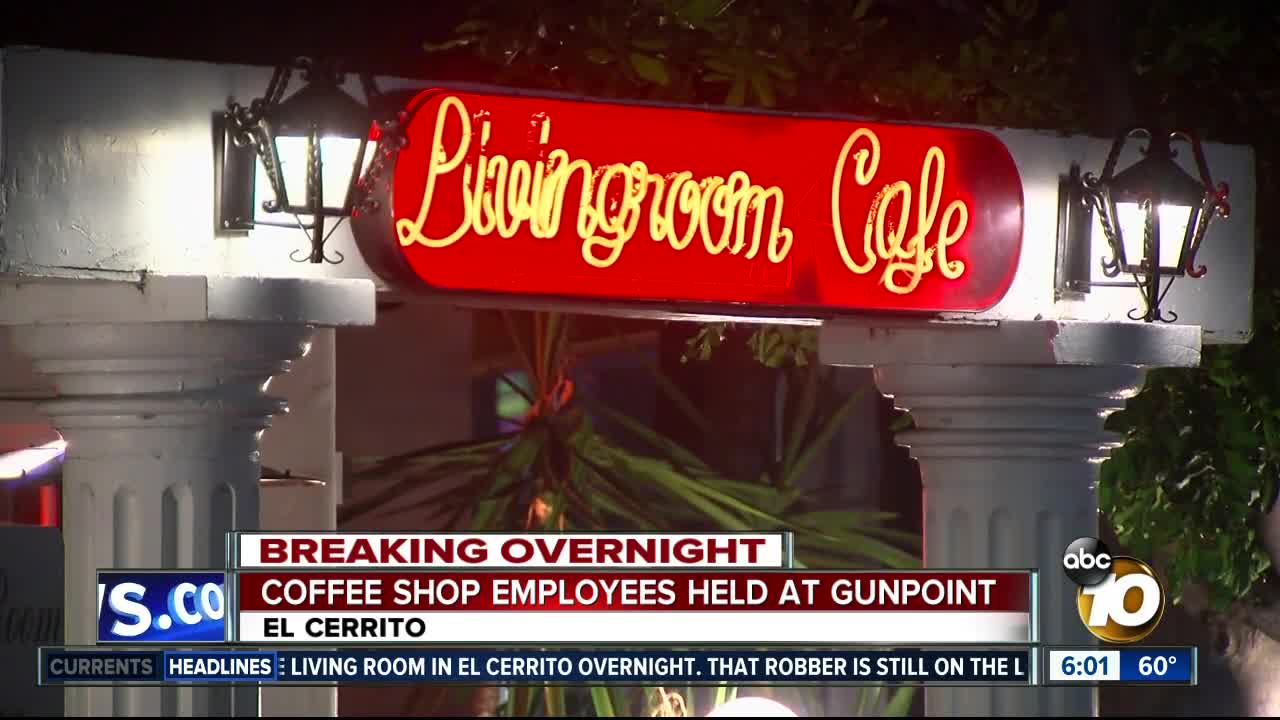 College Area Cafe Robbed At Gunpoint