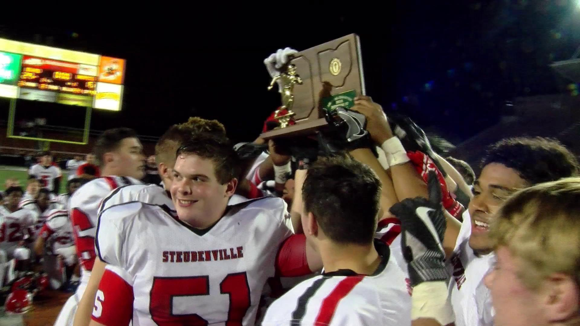 11.22.16 Team of the week - Steubenville Big Red