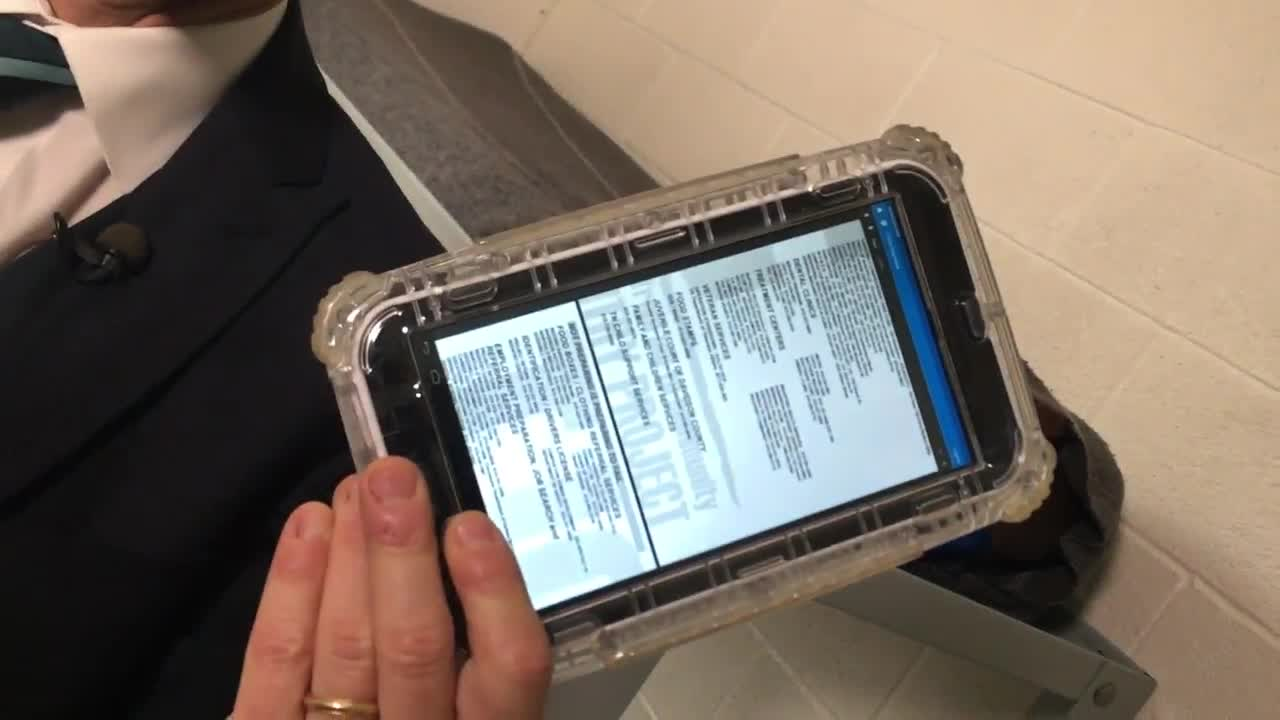Davidson County Jail Inmates Get Tablets In Their Cells