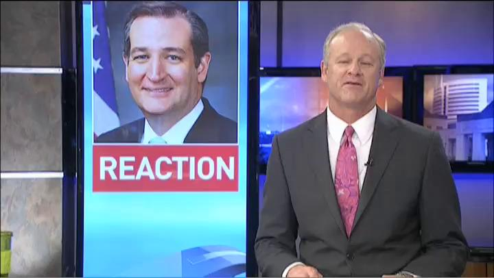 KFDM live report with voters' reactions to Cruz leaving race