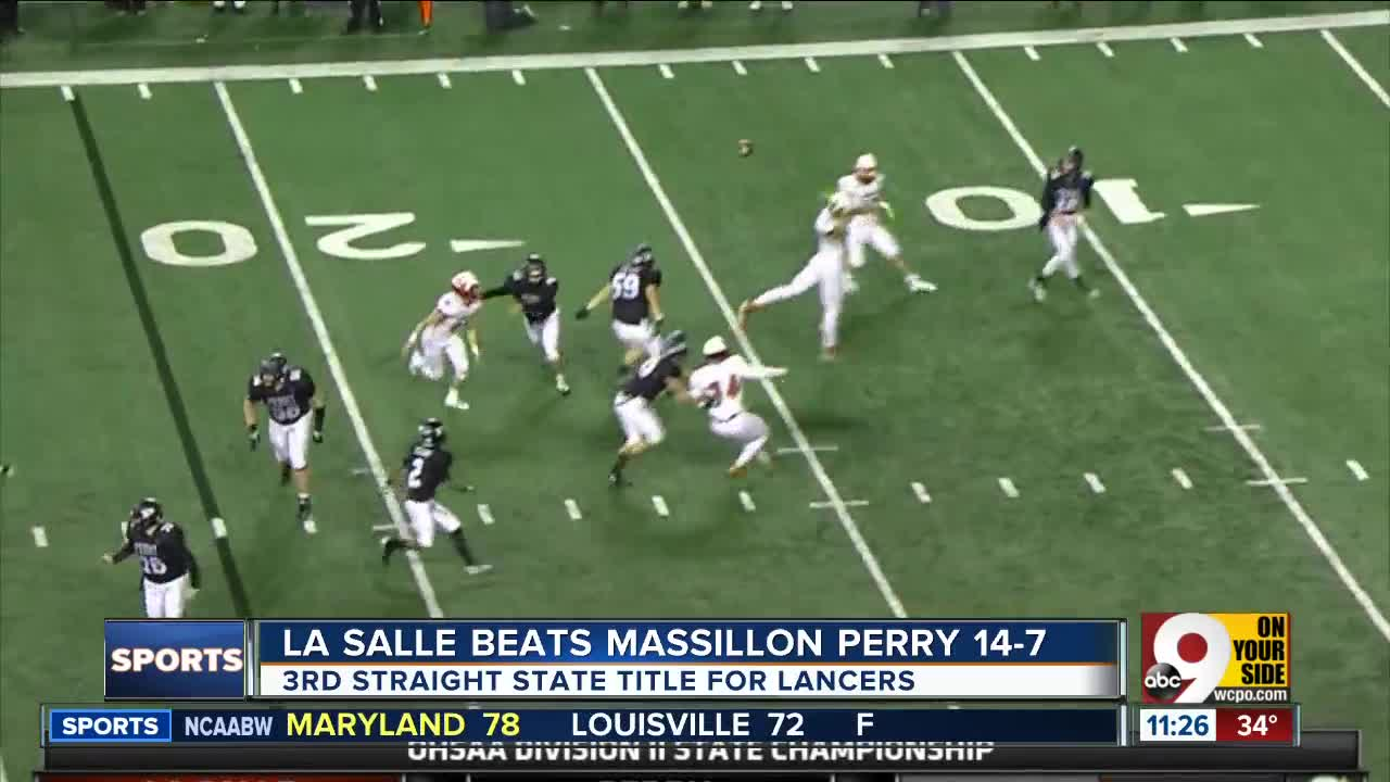 La Salle Shows Its Grit Wins Third Straight Ohio Division Ii