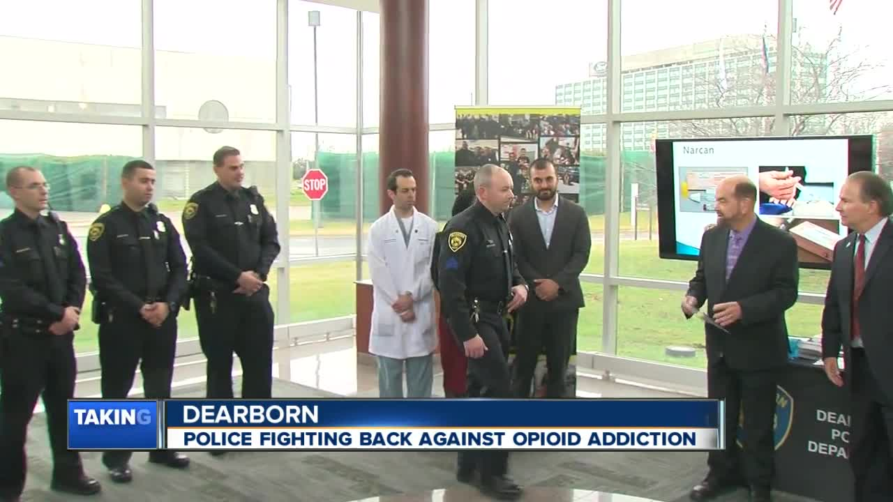 Dearborn police now armed with opioid overdose drug