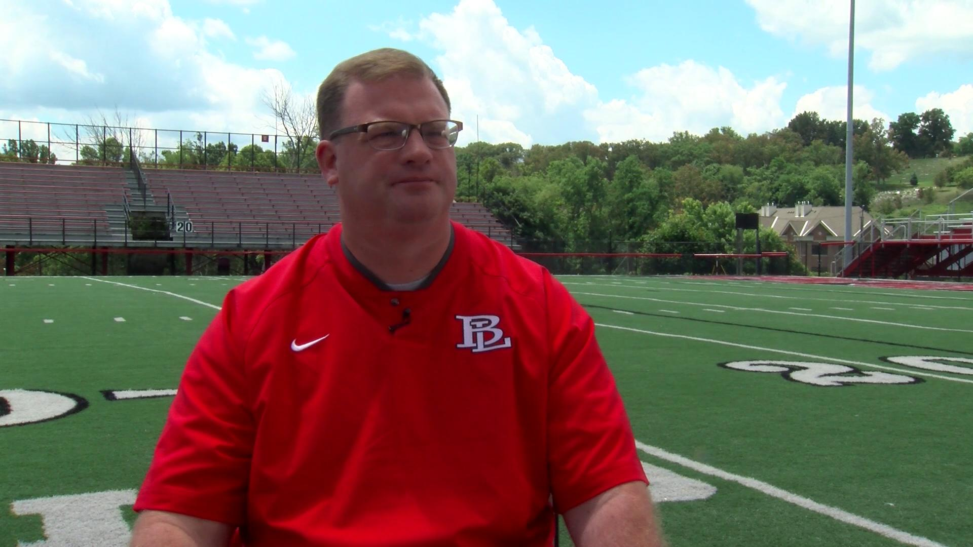 VIDEO 2016 Media Day:  Head Coach Jeremy McElroy