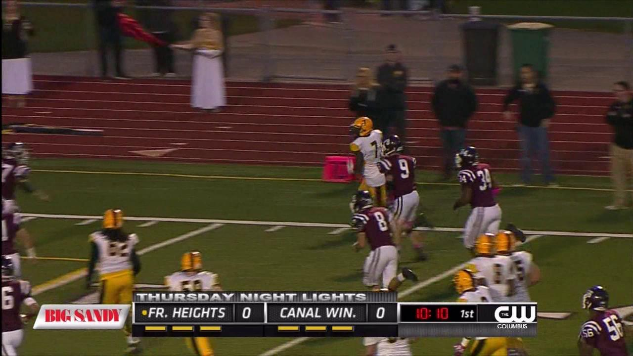 Week 8 Highlights - Franklin Heights advances to 8-0