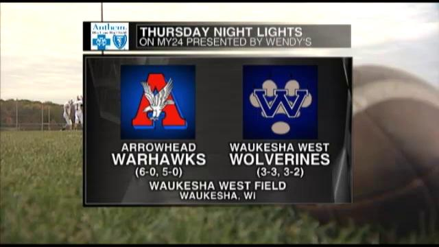 Week 7 Arrowhead vs Waukesha West