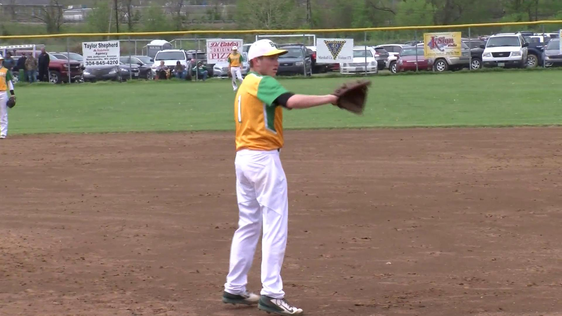 4.22.17 Highlights - Bishop Donahue advances to OVAC 1A baseball final